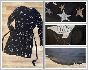 Gorgeous Stars Sheer (with Under Dress) Dress Size 12