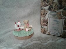 Cherished Teddies 778249   Tea Set Candle Topper  2000