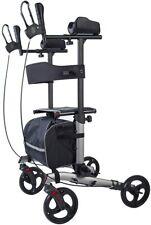 ELENKER Upright Walker, Stand Up Folding Rollator Walker Back Erect Walking Aid