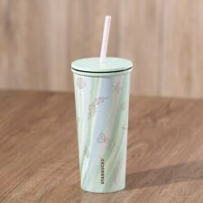 STARBUCKS HONG KONG 2021Under The Sea Stainless Steel Cold Cup 16oz 經典人魚海底不鏽鋼凍杯