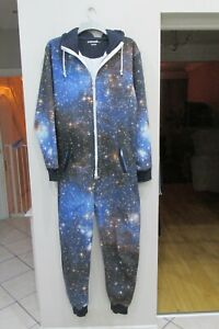 Mens Outcast All In One Sleepsuit Size Medium Good Condition