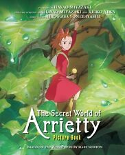 The Secret World of Arrietty Picture Book (Studio Ghibli Library) NEU Gebunden B