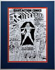 Giant ACTION COMICS #373 COVER PRINT Professionally Matted DC