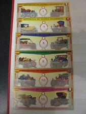 Stamps Republica De Guinea Ecuatorial 6  postzegels met Klassieke auto's