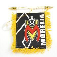 "Soccer ""Morelia"" Flag Mini Banner Car Window Mirror"