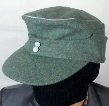 WWII GERMAN ELITE M43 OFFICER FIELD WOOL CAP HAT XL-B1048