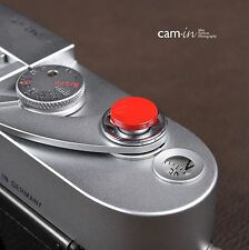 Red Concave shutter button for Fujifilm Fuji X-E1 X-Pro1 X10 X20 X100S Camera