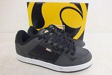 DVS Shoe Company 'Sanction' Black & Gray Skateboarding Shoes US Men's 9/42.5 NEW