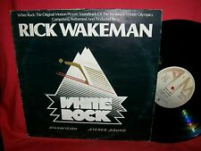 RICK WAKEMAN White Rock OST Winter Olympics Games LP 1977 ITALY EX+ First Press