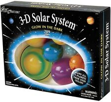 Glow In The Dark 3D Solar System Kit Mobile Haniging Planets Kids Educational