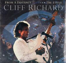 """CLIFF RICHARD """" FROM A DISTANCE THE EVENT """" DOPPIO LP  SIGILLATO 1990 EMI ITALY"""