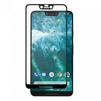 For GOOGLE PIXEL 3 XL - TEMPERED GLASS SCREEN PROTECTOR TOUCH FULL COVER CURVED