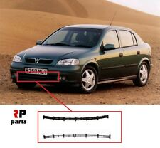 NEW OPEL VAUXHALL ASTRA G 98-04 FRONT BUMPER LOWER GRILL TRIM BLACK PAIR SET