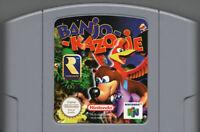 Banjo-Kazooie For 64 Bit - EUR Version PAL Card
