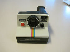 Polaroid One Step Rainbow, SX70, motor tested, GUC