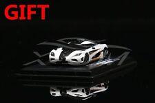 Car Model FrontiArt Koenigsegg One:1 Avan Style 1:87 (White/Orange) + SMALL GIFT