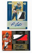 2016 Donruss Signature GOLD RC Patch Auto SP Devontae Booker Denver Broncos #/25