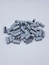 LEGO LOT 50 X BRIQUE 1X3 LIGHT BLUISH GRAY REF 3622 *NEUF*