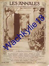 Les annales n°2081 du 13/05/1923 Île de Rapa Polynésie Mgr Laval de Montmorency