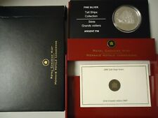 """Canada 2005 - 20 Dollar in Silver,Pf -hologramm - Tall Ships Painting """""""