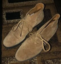f1710fabc61a New ListingEddie Bauer- Size 6 1 2N-Suede Chukka Ankle Booties Lace-Up Boots  Shoes-spotless