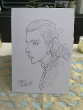 Chris Riddell Original Drawing