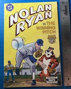 "1992 ""Nolan Ryan In The Winning Pitch"" DC Comics"