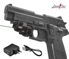Lasertac Subcompact Green Laser Sight for Walther PK380 Sig Sauer Pistols