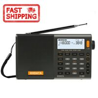 XHDATA D-808 Portable Digital Radio FM stereo/ SW / MW / LW SSB RDS Air Band LCD