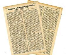 Zu den Folgen des U-Boot-Krieges gegen England * Textdokument von 1917