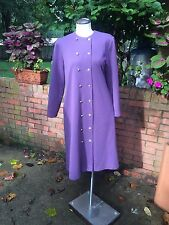 Vintage Double Breasted Long Sleeve Coat Style Dress