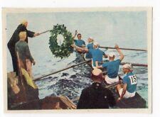 figurina OLIMPIADI 1968 EDIZIONE BAGGIOLI NEW numero 51 QUATTRO CON TIMONIERE