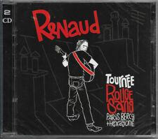2 CD : RENAUD - Tournée Rouge Sang PARIS Bercy 2007 + HEXAGONE / NEUF cellophané