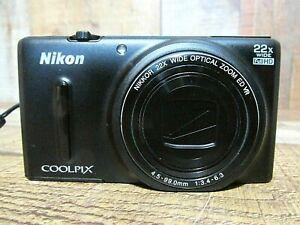Nikon COOLPIX S9600 16MP WiFi Camera w/ 22x Optical Zoom (Black)