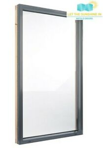 New, Aluminium window, anthracite grey*600mm x 2100mm* MULTIPLE SIZES AVAILABLE
