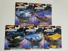 Hot Wheels Fast & Furious Imports Set w/ R32 R34 Nissan Skyline GT-R S15 Silvia