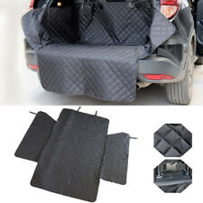 Car Trunk Dog Cargo Liner Mat Boot Cover Cat Protector Blanket Nonslip Side Flap
