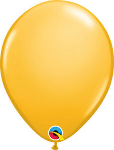 "AUSTRALIA DAY BALLOONS 25 x 11"" QUALATEX GOLDENROD PROFESSIONAL LATEX BALLOONS"