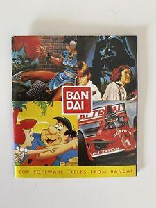 Bandai Nintendo Poster 1990's Nintendo Gameboy NES SNES Vintage Star Wars Retro