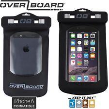 OverBoard wasserdichte Handy Tasche iPhone 4 5 6 7 8 Smartphone Hülle schwarz