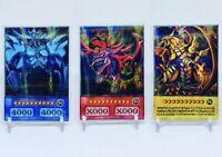 Yu-Gi-Oh Carte Slifer Oblelisk RA HOLO dieux Custom Card Orica Anime Style