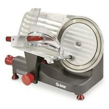 "10"" Blade 250W Commercial Meat Slicer Electric Deli Slice Veggie Cutter Kitchen"