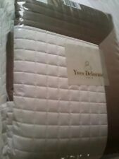 Yves Delorme COCON SUREAU BLANC LIGHTLY QUILTED COVERLET BEDSPREAD
