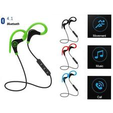 Wireless Bluetooth 4.1 Headset Earphone Sport Headphone Mic for iPhone Samsung