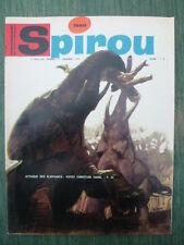 Journal SPIROU n° 1520 (52 pages)  du 1er juin 1967  - COMPLET sans supplément