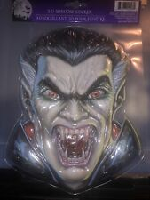 Halloween Dracula Vampire 3D Window Stickers Cling