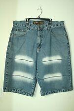 Mens Noiz Jeans shorts denim loose baggy fit tag size 38