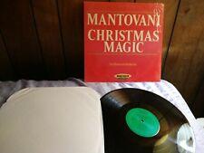 Mantovani Christmas Magic Vinyl Lp 1980 HDY 1919