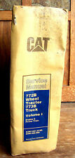 CAT Caterpillar 772B WHEEL TRACTOR 773B TRUCK Vol. I Service Repair Manual  #939