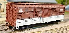 Train Miniatures HO Canadian Pacific (CP) 40' Stock / Cattle Car